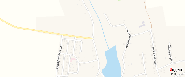 Приозерная улица на карте села Старого Кривца с номерами домов
