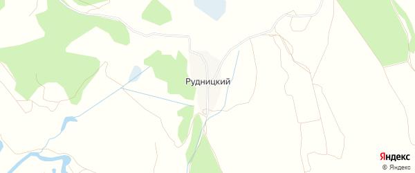 Карта Рудницкого поселка в Брянской области с улицами и номерами домов