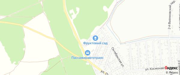 Автодорожная улица на карте Клинцов с номерами домов