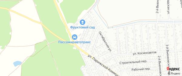 Цветочная улица на карте Клинцов с номерами домов