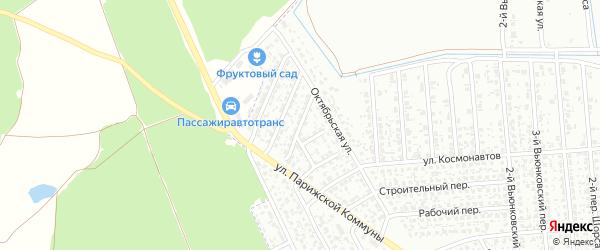Цветочный переулок на карте Клинцов с номерами домов