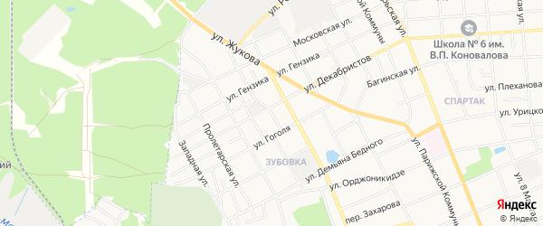 ГСК N13А ГПК Диана на карте улицы Семашко с номерами домов