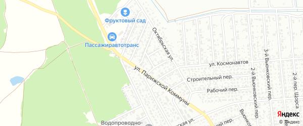 Проезд Дружбы на карте Клинцов с номерами домов