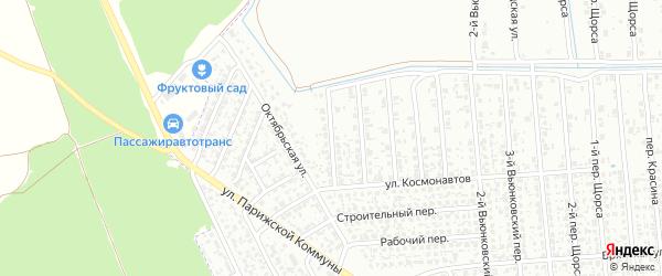 8-й Вьюнковский переулок на карте Клинцов с номерами домов