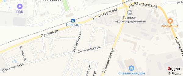 1-я Транспортная улица на карте села Займища с номерами домов