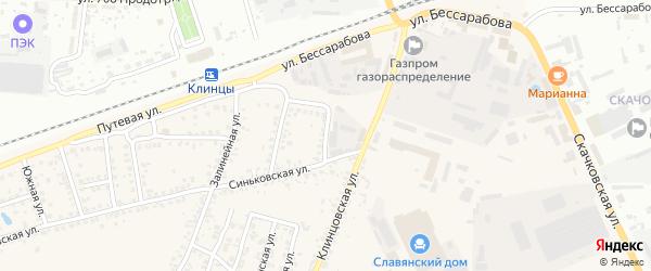 2-я Транспортная улица на карте села Займища с номерами домов