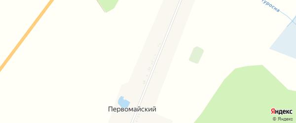 Парковая улица на карте Первомайского поселка с номерами домов