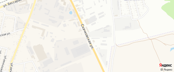 Скачковская улица на карте села Займища с номерами домов