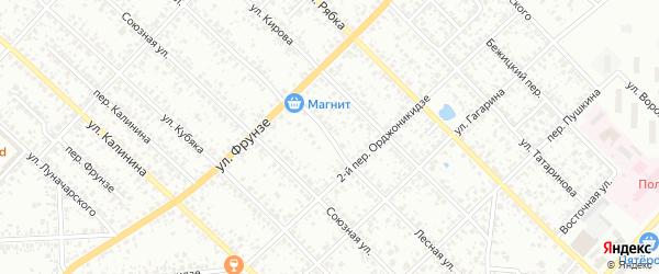 Лесная улица на карте Клинцов с номерами домов