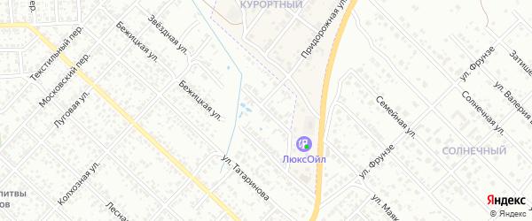 Звездный переулок на карте Клинцов с номерами домов