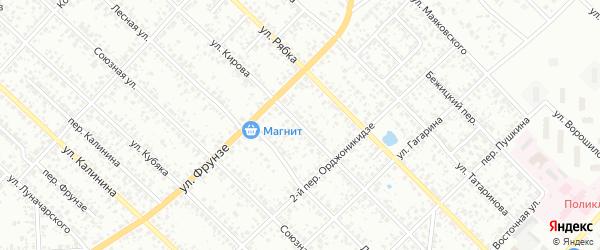 Улица Кирова на карте Клинцов с номерами домов