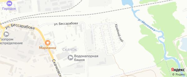 Оболешевский переулок на карте Клинцов с номерами домов