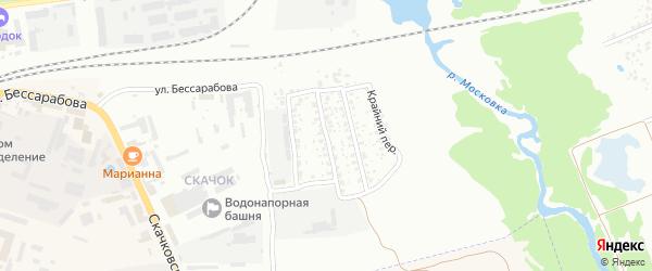 1-й Скачковский переулок на карте Клинцов с номерами домов