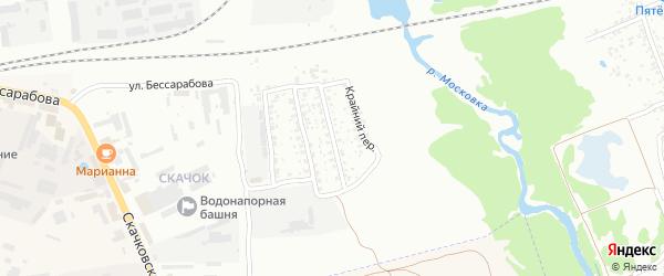 2-й Скачковский переулок на карте Клинцов с номерами домов