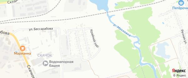 Крайний переулок на карте Клинцов с номерами домов
