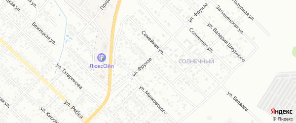 Переулок Маяковского на карте Клинцов с номерами домов