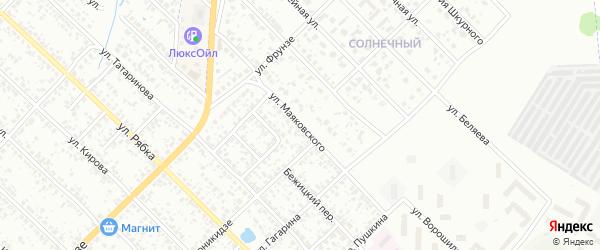 Улица Маяковского на карте Клинцов с номерами домов