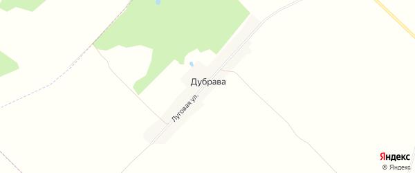 Карта поселка Дубравы в Брянской области с улицами и номерами домов