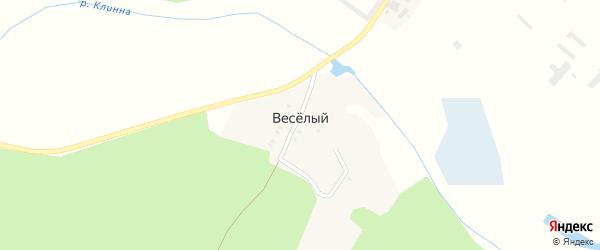 Зеленая улица на карте поселка Веселый (Душатинский с/с) с номерами домов