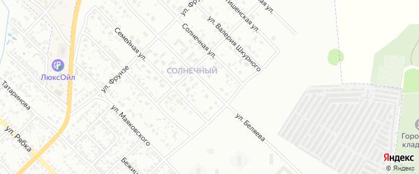 Улица Беляева на карте Клинцов с номерами домов