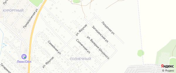 Улица Валерия Шкурного на карте Клинцов с номерами домов