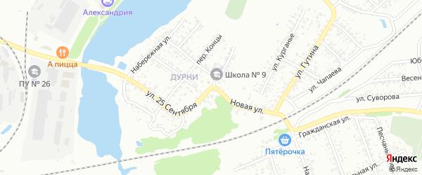 Новая улица на карте Клинцов с номерами домов