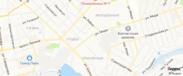 Территория N 50А ПК Текмаш-1 на карте улицы Мира с номерами домов