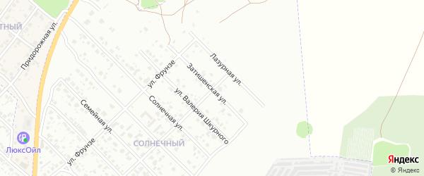 Затишенская улица на карте Клинцов с номерами домов