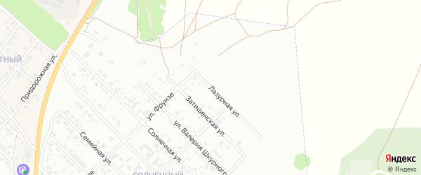Лазурная улица на карте Клинцов с номерами домов