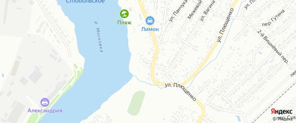 2-й Озерный переулок на карте Клинцов с номерами домов