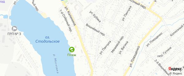 Лесной переулок на карте Клинцов с номерами домов