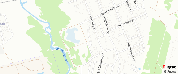 Артельный переулок на карте Клинцов с номерами домов