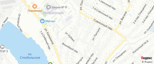 Улица Плоткина на карте Клинцов с номерами домов