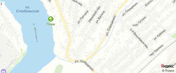 2-й Колхозный переулок на карте Клинцов с номерами домов