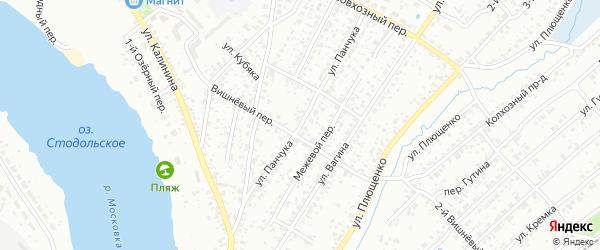 Улица Панчука на карте Клинцов с номерами домов