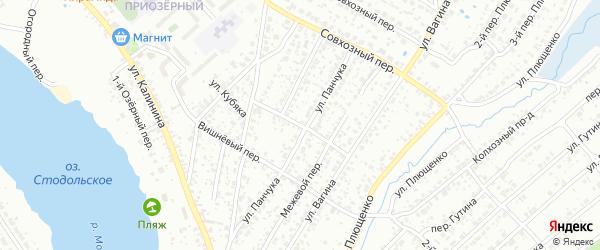 Безымянный переулок на карте Клинцов с номерами домов