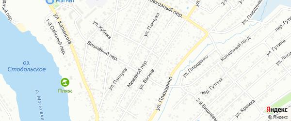 Межевой переулок на карте Клинцов с номерами домов
