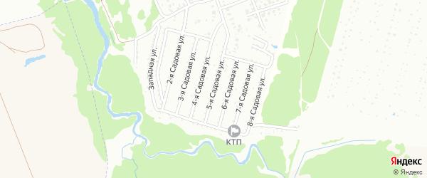 5-я Садовая улица на карте Нсдт Строителя с номерами домов
