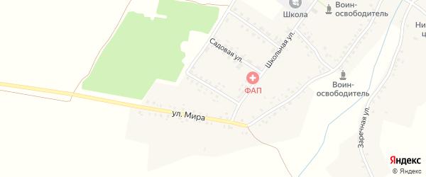 Улица Механизаторов на карте села Могилевцы с номерами домов