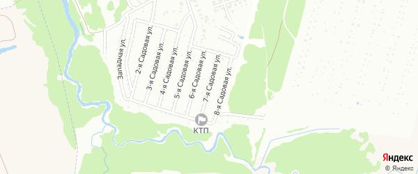 7-я Садовая улица на карте Нсдт Строителя с номерами домов