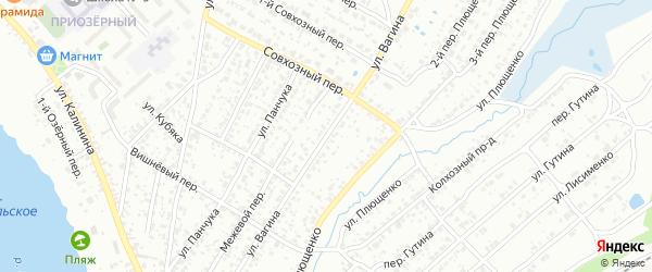Улица Вагина на карте Клинцов с номерами домов