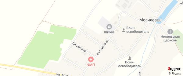 Молодежная улица на карте села Могилевцы с номерами домов