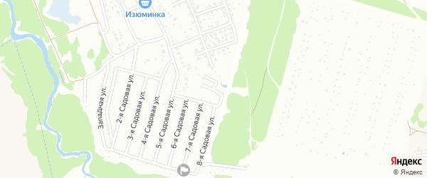 2-я Северная улица на карте Нсдт Строителя с номерами домов