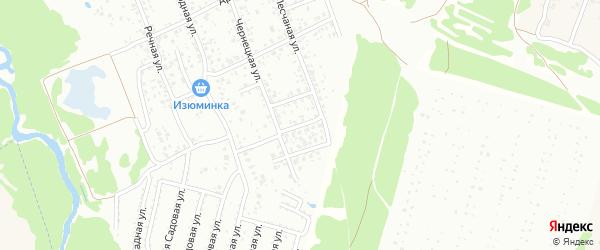 Полевой переулок на карте Клинцов с номерами домов