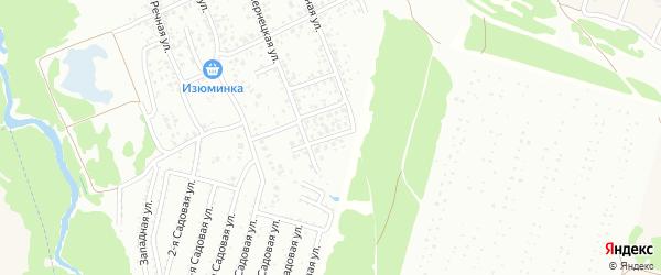 Чернецкий переулок на карте Клинцов с номерами домов