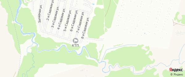 Восточная улица на карте Нсдт Строителя с номерами домов