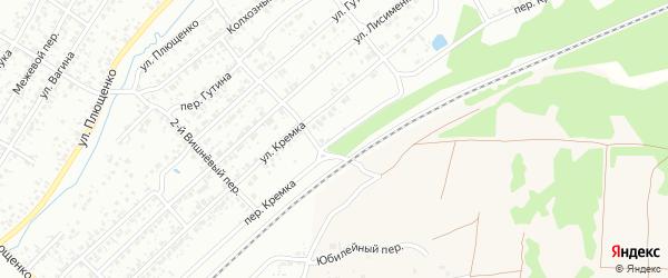 Переулок Кремка на карте Клинцов с номерами домов