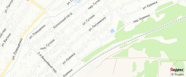 Улица Кремка на карте Клинцов с номерами домов