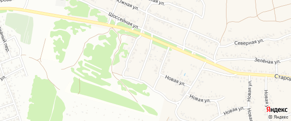 2 -й Шоссейный проезд на карте села Ардонь с номерами домов