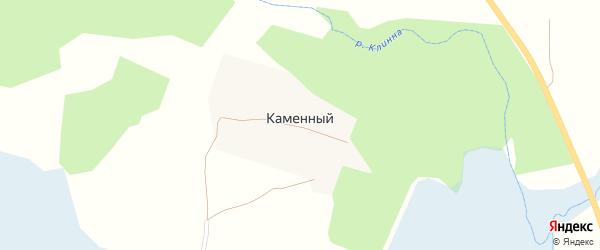 Лесная улица на карте Каменного поселка с номерами домов